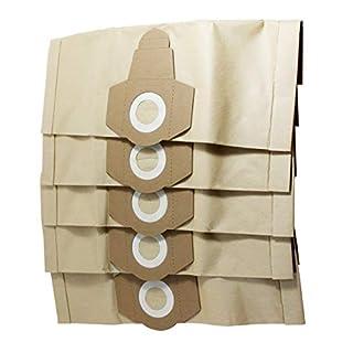 Spareftti Einhell Nass- und Trocken-Vakuumbeutel, 12 l, 15 l, 20 l, 5 Stück