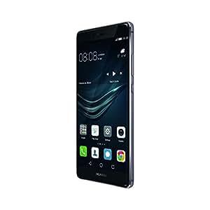 Huawei P9 Plus Smartphone, LTE, Display 5.5'' FHD, 64 GB Memoria Interna, 4 GB RAM, Fotocamera 12 MP, Brand Vodafone, Grigio