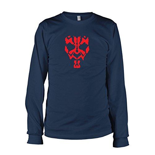 TEXLAB - SW: Maul - Langarm T-Shirt, Herren, Größe M, dunkelblau