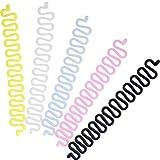 10 Pezzi Fermaglio per Capelli Francese Strumento Twist Capelli Treccia Capelli Strumento di Trecciatura per Acconciatura Fai Da Te, 5 Colori Misto
