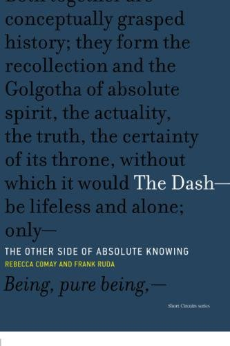 Dash - The Other Side of Absolute Knowing (Short Circuits) por Rebecca Comay