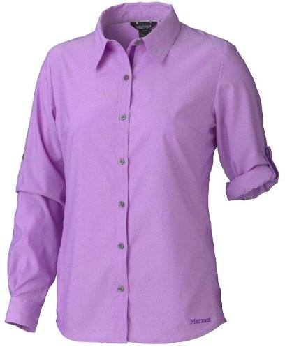 Marmot Damen Bluse Reese Long Sleeve vibrant purple