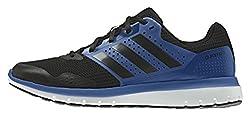 adidas Performance Herren Duramo 7 Laufschuhe, Blau (Core Black/EQT Blue S16/Core Black), 45 1/3 EU