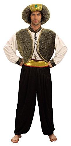 Reír Y Confeti - Ficdes008 - Disfraz Para Adultos - Sultan Costume Deluxe - Hombre - Talla XL