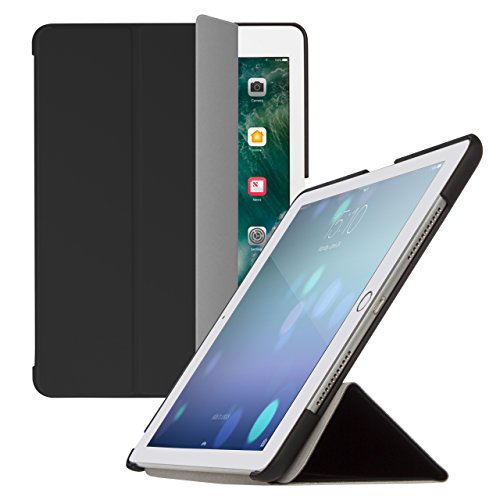 Brand.it Fold.it passend für iPad 9.7 2017 2018 5. und 6. Generation iPad Smart-Case Hülle Cover Schutz Top Qualität Flip mit Stand-Funktion Auto Sleep-Wake-Funktion schwarz