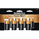 Duracell Coppertop C Alkaline Batteries, 8 Ct