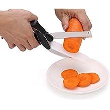 flintronic Clever Cortador de Cocina 2-en-1, Tijeras Cortador de Cocina, para Verduras, Pollo, queso y Picador