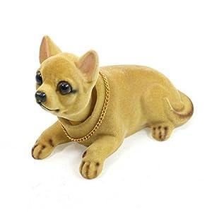 Chihuahua da Cruscotto per auto con testa che annuisce