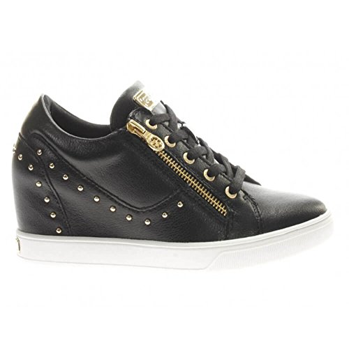 Black Guess FLNNA1 Sneakers Black LEA12 xIxTgwr