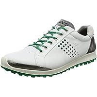 pretty nice b2bd7 bae98 ECCO Mens Biom Hybrid 2 - Zapatos de Golf para Hombre, Color Blanco Verde