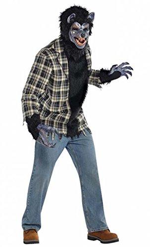 Werwolf Kostüm Herren Gr. Plus/XL