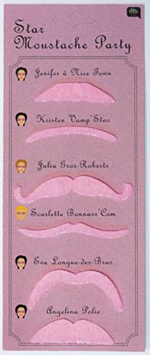 Moustaches roses