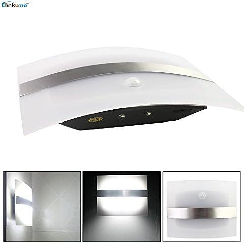 ELINKUME Super brillante batería inalámbrico sensor de movimiento PIR luz, pasillo gabinete luz de noche LED Stick Anywhere