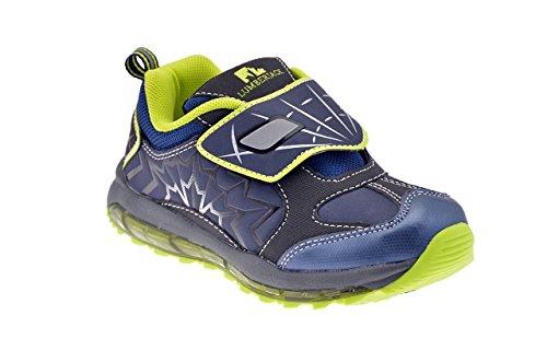 Lumberjack , Chaussures de ville à lacets pour garçon Bleu