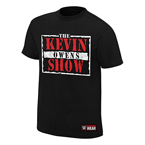 "Kevin ""The Kevin Owens Show Owens Authentic Maglietta Black M"