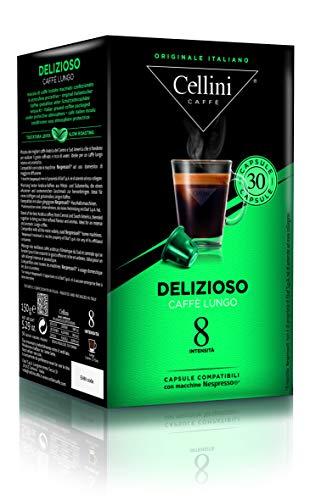 Cellini LUNGO DELIZIOSO  (30 Kapseln à 5 g), 1er Pack (1 x 150 g)