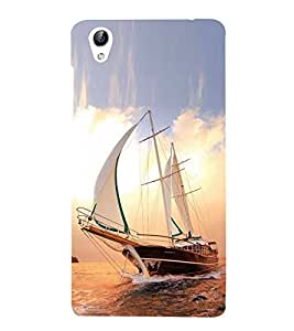 Vizagbeats Sailing Ship Back Case Cover for Oppo A37