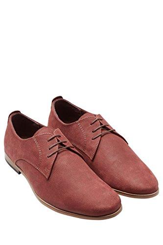 next Chaussures Derby À Semelle Contrastante Standard Homme Bordeaux
