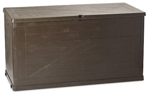 Toomax Kissenbox Multibox Wood 420, Braun Indoor Storage Box