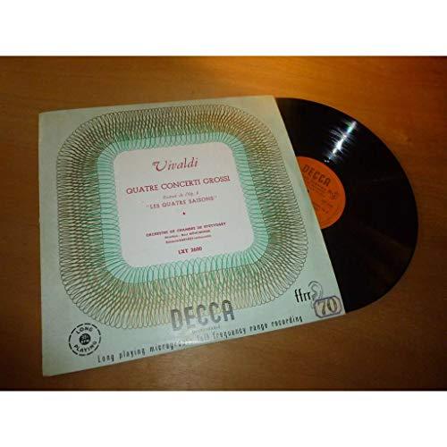 Four Concertos From Op. 8 ' Le Quattro Stagioni' (The Four Seasons) [Vinyl LP] - 8' Vinyl