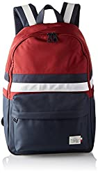 Tommy Hilfiger Mens Tommy Backpack Retro Laptop Bag Red (Corporate)
