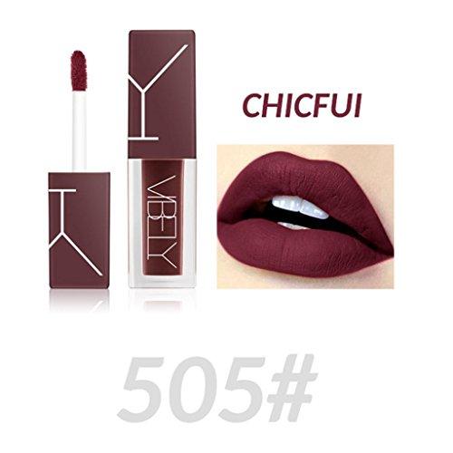 Lipgloss Matte, Huihong VIBELY flüssige Lippenstift Nicht stecken Tasse Nebel Gesicht Kosmetik sexy...