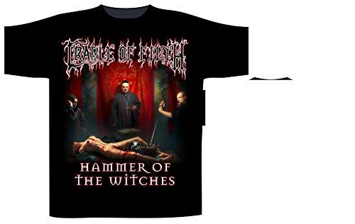 Cradle of Filth -  T-shirt - Uomo Nero