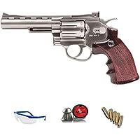 WINCHESTER .45 Revólver Special | Pack Pistola de Aire comprimido (CO2) Y balines de Plomo (perdigones) Cal. 4.5mm. Réplica Full Metal <3,5 Julios