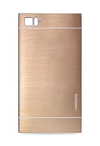 Motomo Back Case Cover for Xiomi - X-Mi3-G (Gold)