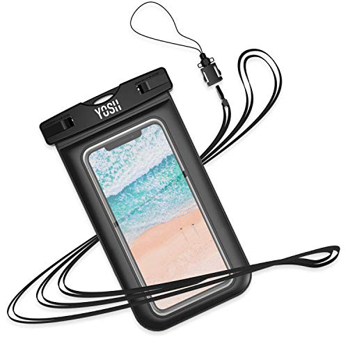 Self-Conscious Yosh Waterproof Phone Case Black New Great For Travelling Walking Hiking Outdoor Cases, Covers & Skins