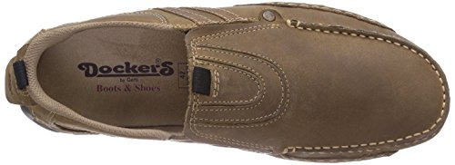 Dockers by Gerli 20AY005-400361, Mocassins homme Gris (Stone/multi 423)