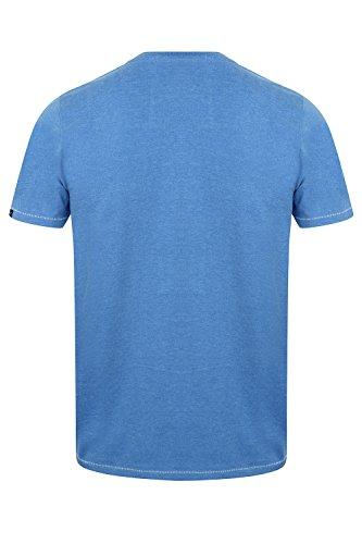 Tokyo Laundry Herren Blusen T-Shirt Blau Blau Small Henryville-Cornflower Blue
