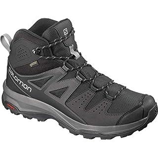Salomon Men's X Radiant Mid GTX Hiking and Multisport Shoes Waterproof, Grey (Phantom/Magnet/Monument), 7.5 UK (41 1/3 EU)
