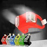 Zonster Zonster 1PC Red Kinderwagen AußEn Sicher Pflege Nachtlichter Erinnern Sicherheitswarnung Stroller Licht wasserdichte Flash-Warnleuchte Werkzeug