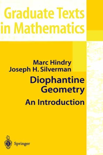 Diophantine Geometry: An Introduction (Graduate Texts in Mathematics) by Marc Hindry (2000-04-01)