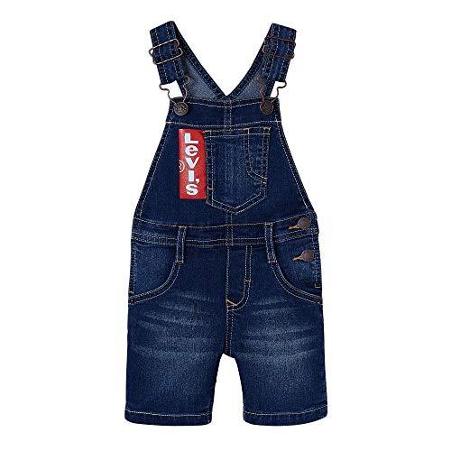 Levi's Kids Jungen Nn21004 46 Dungaree Overall, Blau (Indigo, 3 Jahre (Herstellergröße: 36M) -
