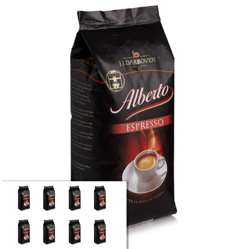 8 x Darboven Alberto Espresso Espressobohnen 1kg