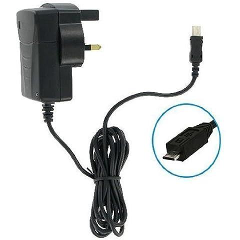 IDECT Smart 64Micro USB REGNO UNITO CE approvato di rete a 3 pin caricabatteria da viaggio ho -Tronixs
