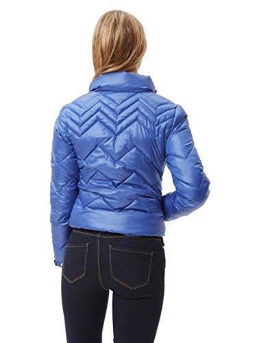 Vero Moda - Femme Wind Court Puffa Bleu Marine Bleu