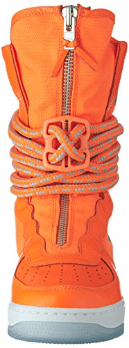 Nike SF Af1 Hi, Chaussures de Gymnastique Homme Orange (Total Orange/total Orange/white)