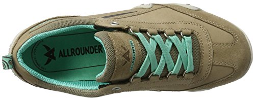 Allrounder by Mephisto Fina-Tex, Chaussures Multisport Outdoor Femme Taupe