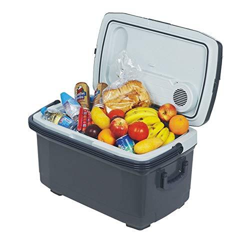 Mini-Kühlschrankkühler Elektrischer Reisekühler und -wärmer - tragbarer 45-Liter-Kühlschrank mit Netz- und Gleichstromkabeln für Haushalt, Auto und Camping ( Farbe : As picture , Größe : 41*40*67cm )