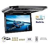 17,3'auto tetto montato monitor overhead soffitto HD 1080P TFT LED schermo flip down display MP5 Player digitale colore TV