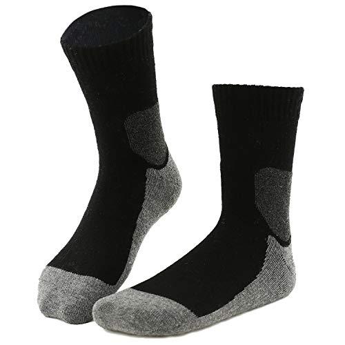 gipfelsport Wandersocken aus Merino Wolle - Socken für Outdoor, Trekking I Trekkingsocken für Damen, Herren und Kinder (Socken Knie-hohe Fahrräder)