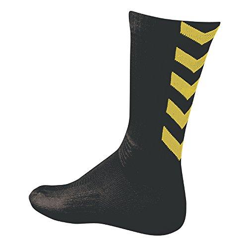 Chaussettes Hummel Authentic indoor noir/ jaune