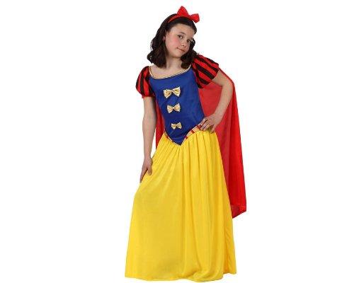 Atosa-10753 Disfraz Princesa de Cuento, color amarillo, 5 a 6 años (10753)