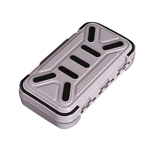 Ambility Waterproof Tackle Box Fishing Lure Storage Case Double Side Sea Boat Distance Carp Fly -