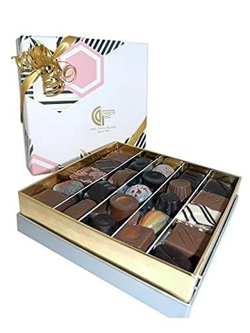 CHOCOLAT DE NOEL - COFFRET BALLOTIN DE LUXE quatro 100G