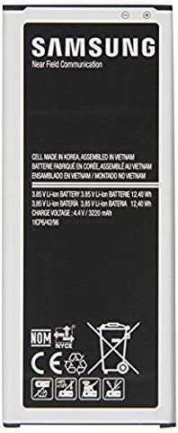 Samsung Spare Replacement Battery for Galaxy Note 4 - Black