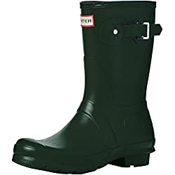 Hunter Original Short - Botas para mujeres, Verde, 38 EU